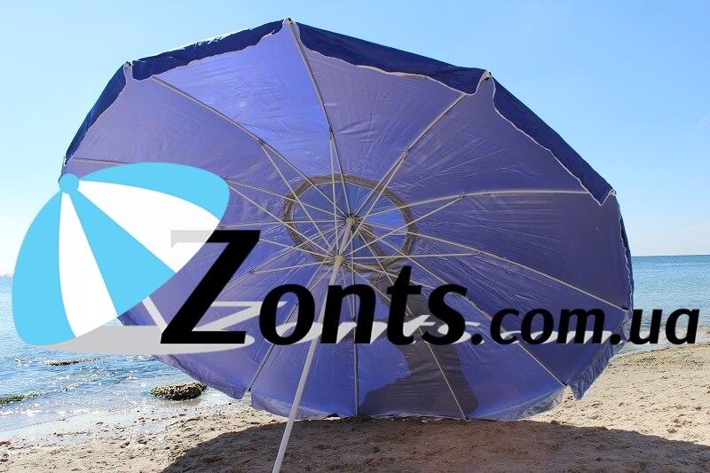 Садовый большой зонт так же торговый зонт для кафе и ресторанов 3,5 метра 16 толстых спиц