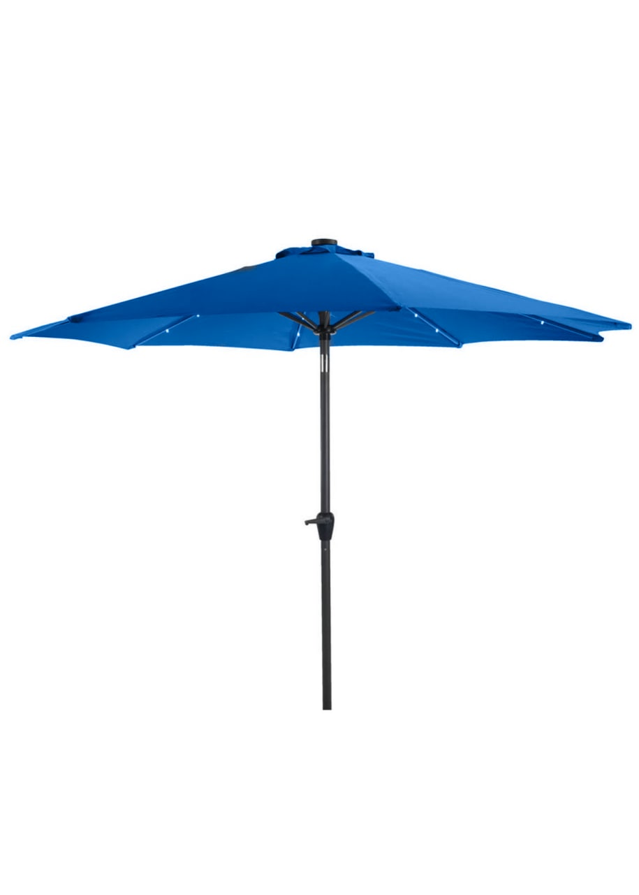 Зонт для кафе с лебедкой