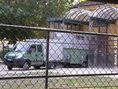 Der Transporter steht schon bereit, 1. Juli 2010