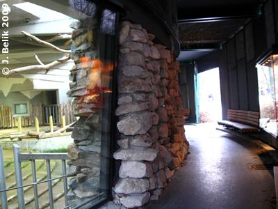 Nashornhaus Besuchergalerie, 29.12.2009