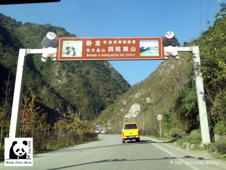 Wolong Nationalpark