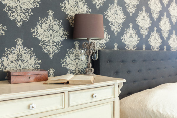 Wallpaper is an easy way to freshen up your home