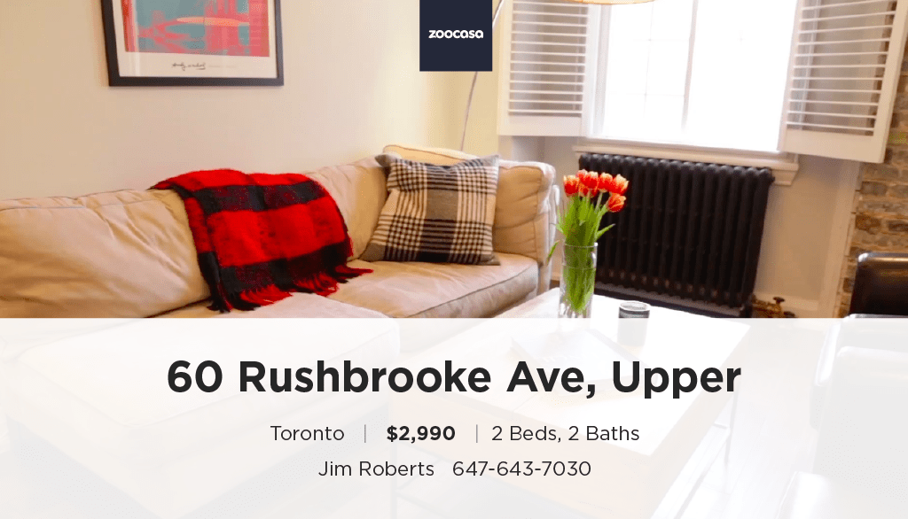 60 Rushbrooke Avenue Upper Unit