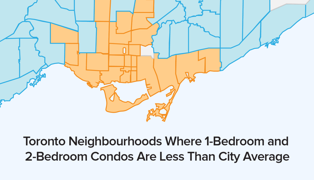 Toronto Neighbourhoods With the Greatest Condo Price Appreciation