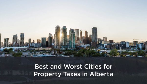 Alberta Cities with the Highest and Lowest Property Taxes