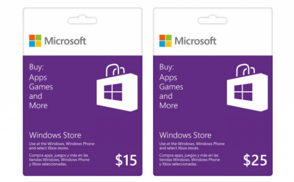Buy Microsoft Windows Store Gift Card Information Technology
