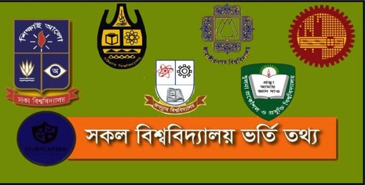 University admission Information