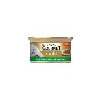 Gourmet Gold хапки в сос Заек и моркови 0.85 gr