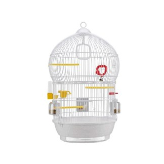 CAGE BALI WHITE - клетка за птици Ø43,5xH 68,5 см
