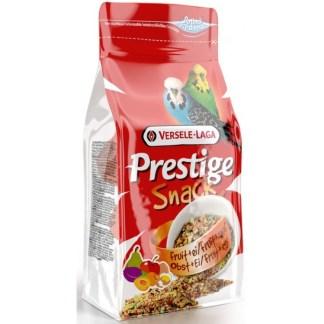 Допълваща храна за вълнисти папагали VERSELE LAGA PRESTIGE SNACK BUDGIES с плодове и яйца, 125 g