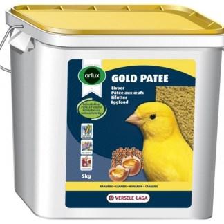 Мека яйчна храна за жълти канари VERSELE LAGA OROLUX GOLD PATEE YELLOW CANARIES, 5 kg