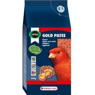 Мека яйчна храна за червени канари VERSELE LAGA OROLUX GOLD PATEE RED CANARIES, 250 g