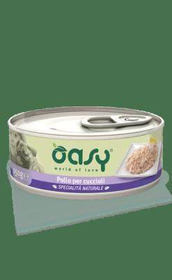 Oasy - Wet Dog – Pollo per Cuccioli. 150gr