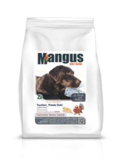 Mangus del Sole - Dog Grain Free Senior Light Tacchino Patata Dolce. 2kg