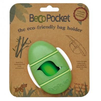 Becothings - Portasacchetti con ricambi Verde 9x4x5 cm