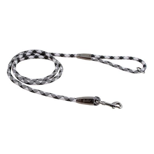 Hurtta - Guinzaglio Casual Rope Argento Cenere. 120x1.1cm