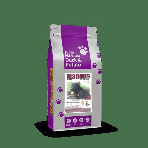 Mangus del Sole - Dog SuperPremium Grain Free Anatra Patata. 2kg