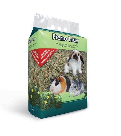 Fieno Hay. Alimento per conigli nani, cavie e cincillà. 1kg