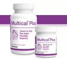 Dolfos - Multical PLUS 90 Vitamine Minerali per cani e femmine gravidanza