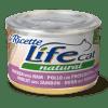 Life Cat Ricette - Umido Pollo Prosciutto Fagiolini. 150gr