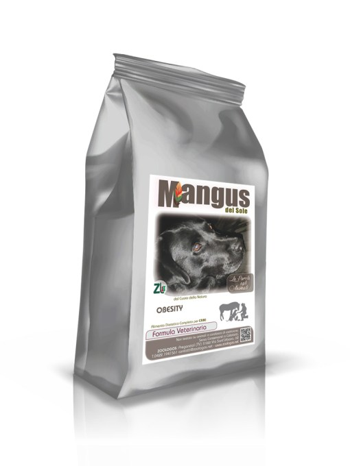Mangus del Sole - Dog Obesity Grain Free. 1.5kg