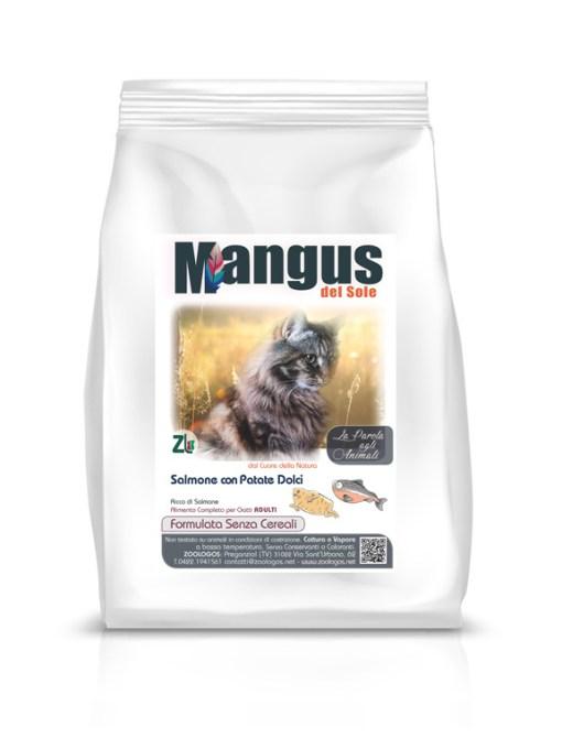 Mangus del Sole - Cat Grain Free Salmone. 400gr
