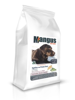 Mangus del Sole - Dog Grain Free Eglefino Patata Dolce. 6kg