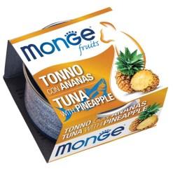 Monge - Cat Fruit Tonno Ananas 80gr