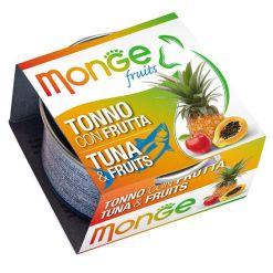 Monge - Cat Fruit Tonno Frutta 80gr