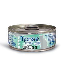Monge - Cat Jelly Kitten Pezzetti Tonno Aloe 80gr