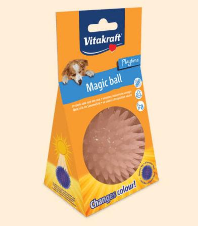 Vitakraft – Magic Ball – Palla che cambia colore