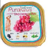 Pura Natura - Tacchino Uva. 150gr