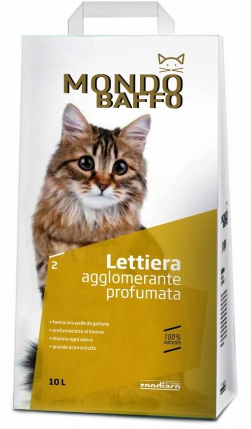 Mondo Baffo - Lettiera Agglomerante Profumata. 10litri
