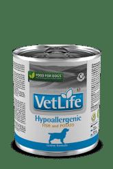 Farmina - Vet Life Umido Cane Hypoallergenic Pesce. 300gr