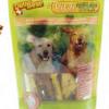 Delibest - Dog snack con Biotina e Semi di Lino per pelle e pelliccia. 200gr