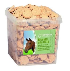 Guidolin - biscotti per Cavalli gusto mela. 2.5kg