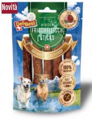 Delibest - Dog snack bastoncini di Carne fresca di Cervo. 85gr