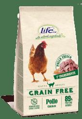 Life Cat Secco - Grain Free Pollo. 1.5kg