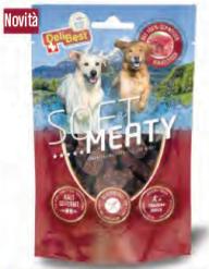 Delibest - Dog snack morbidi di Manzo Svizzero. 150gr