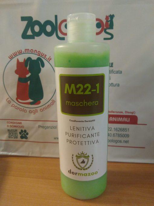 Dermazoo - M22-1 maschera lenitiva purificante con olio essenziale di canapa. 300ml