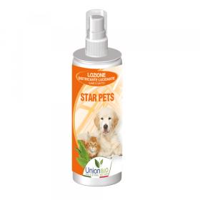 Union Bio - STAR PETS per cani e gatti - Lozione districante lucidante. 125ml