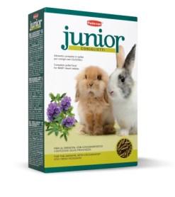 Padovan - Junior Coniglietti. Mangime con coccidiostatico, per conigli nani cuccioli e adulti. 850gr