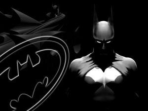batman in darkness