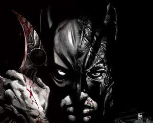 Batman Is Bloody