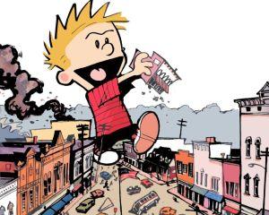 Calvin & Hobbes – Giant Calvin Vs Town