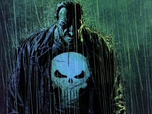 Frank Castle is The Punsher (in the rain)