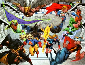 Justice Society of America – Split Up