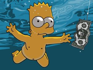 simpsons – bart – nevermind