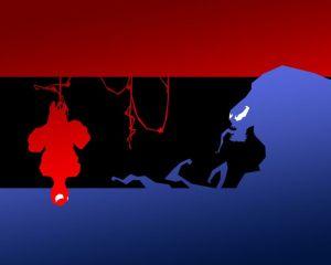 Spider-Man is Red, Venom is Blue