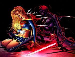 Supergirl Vs Batgirl